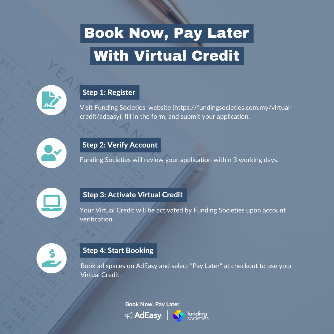 book now pay later bnpl virtual credit adeasy funding societies