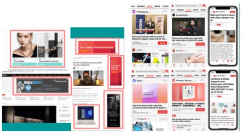 online ads website banners online advertorial adeasy blog